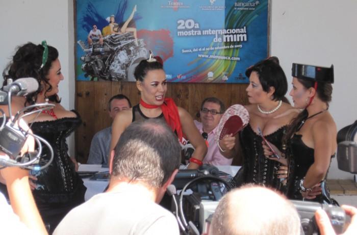 Rueda prensa Mostra Mim 2009 Sueca